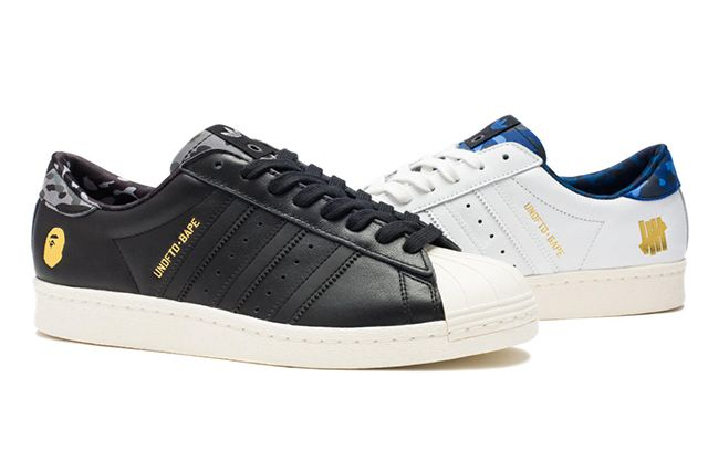Undftd X Bape X Adidas Collection 2