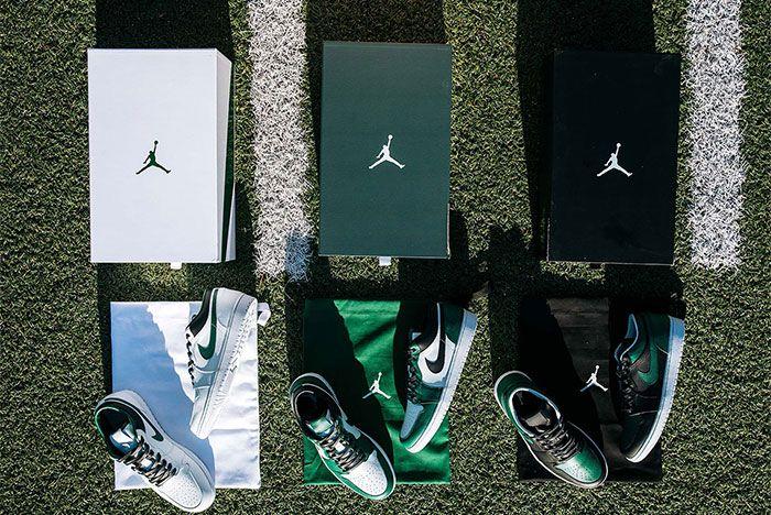 Air Jordan 1 New York Jets Pe Packaging