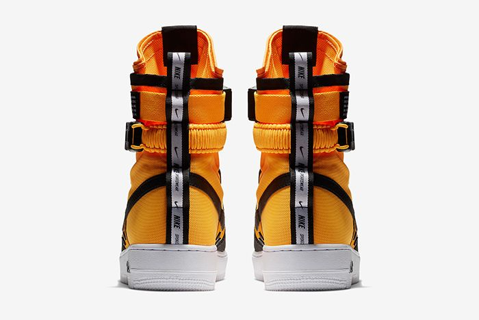 Nike Sf Af1 Black Orange 3