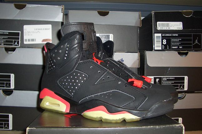 Rebecca Dahms Wmns Basketball Collection Air Jordan 6 Infrared Og 1