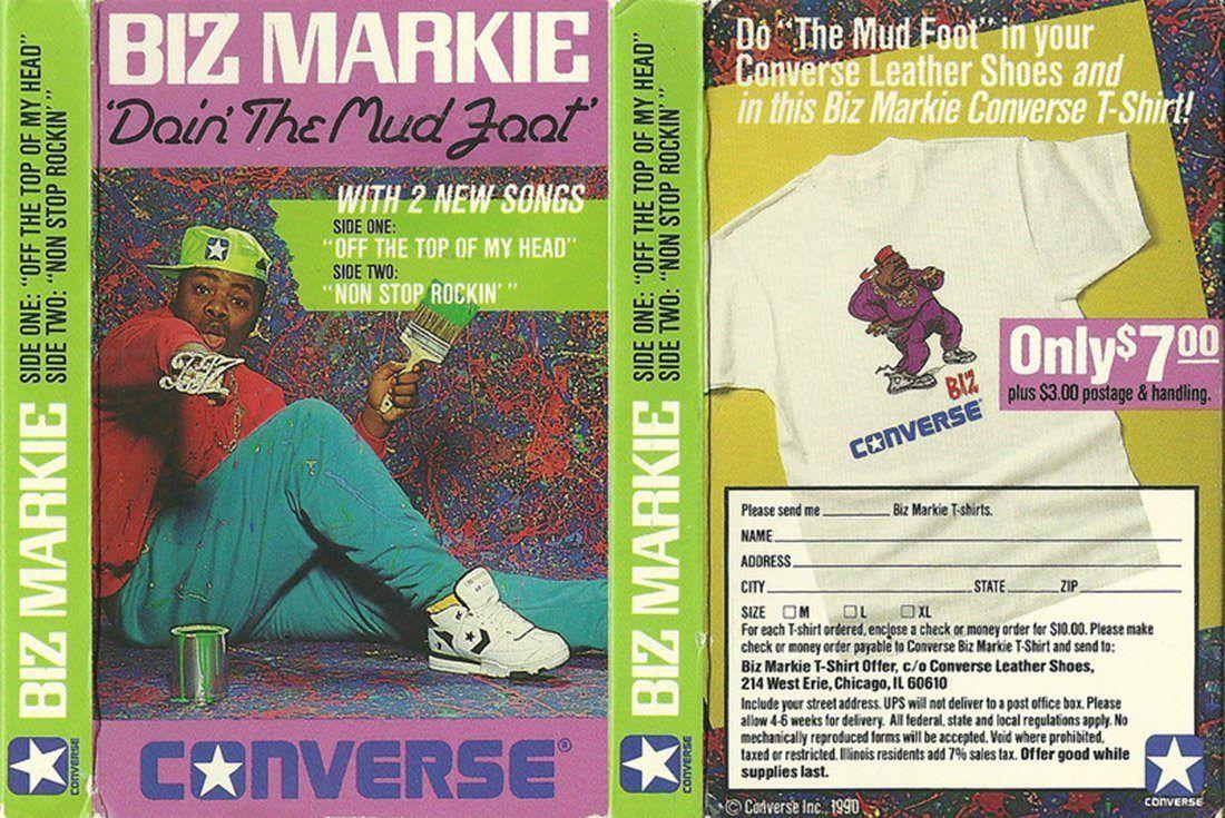 History Converse Pro Leather Biz Markie