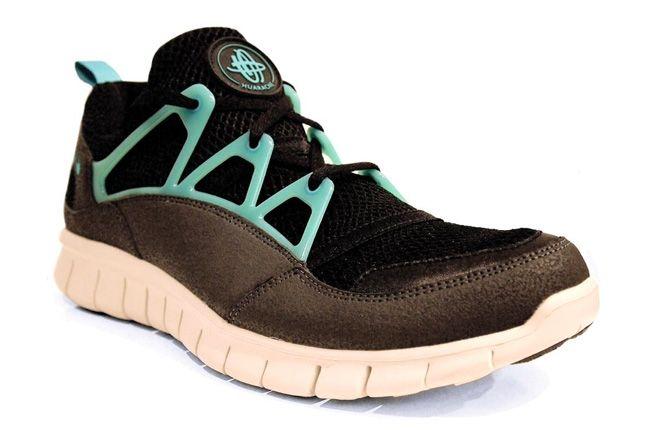 Nike Huarache Free Light Sport Turquoise Quarter Front 1