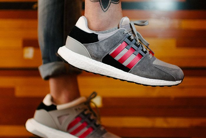 Adidas Eqt Support 93 16 Grey Red 3