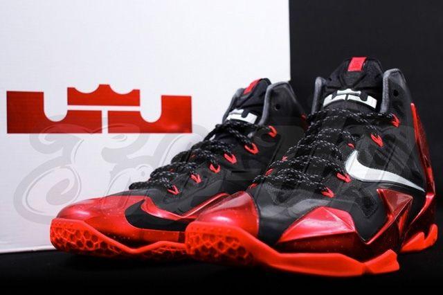 Nike Lebron 11 Miami Heat Away 5