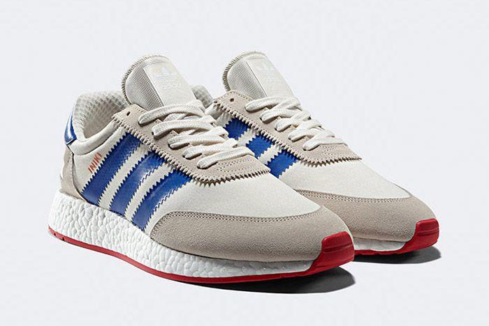 Adidas Iniki Runner Boost White Red Blue 2