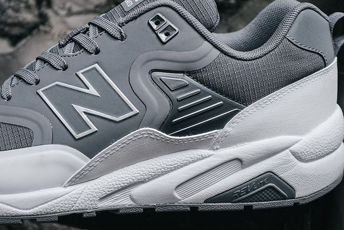 New Balance 580 Deconstructed Gunmetal Grey 3