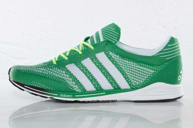 Adidas Primeknit Olympics Prime Green Side 1