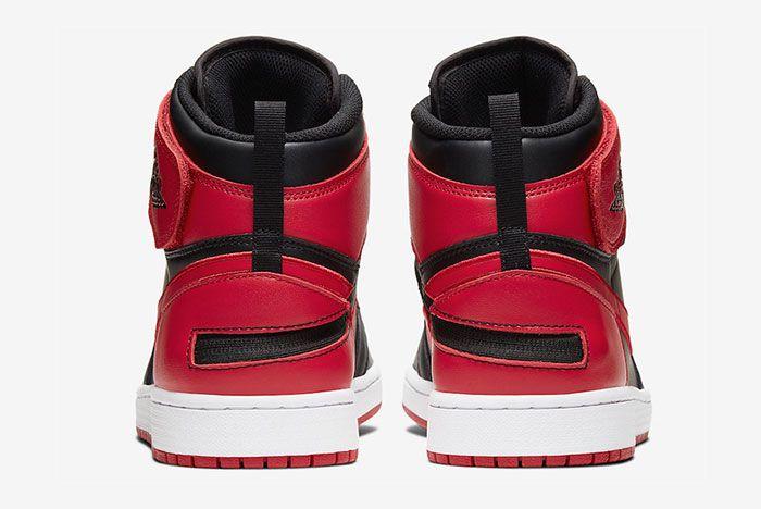 Air Jordan 1 Flyease Gym Red Heel