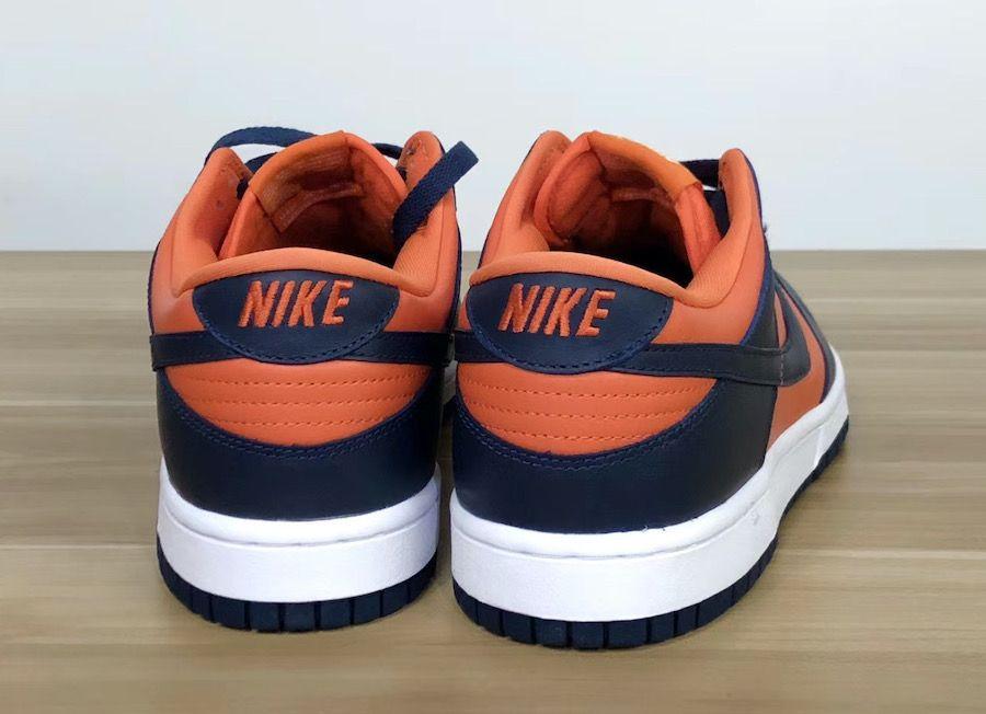 Nike Dunk Low Champ Colors Heel