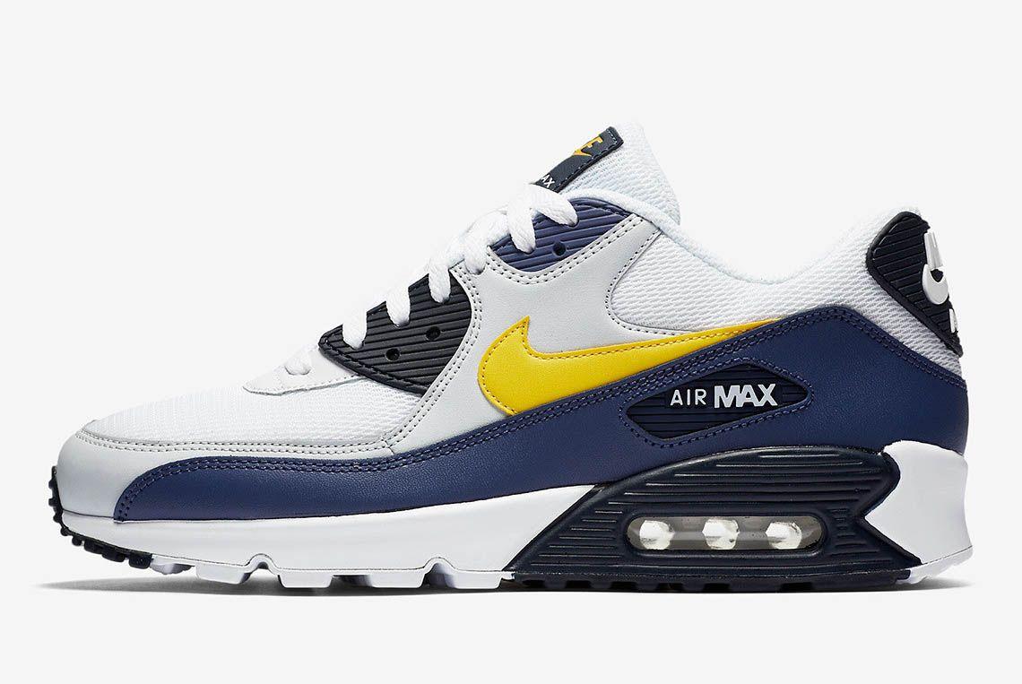 Nike Air Max 90 Michigan Aj1285 101 Buy Now 3 Sneaker Freaker