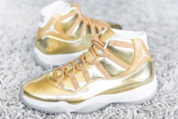 Air Jordan 11 Ovo Metallic Gold Sample Ig Leak