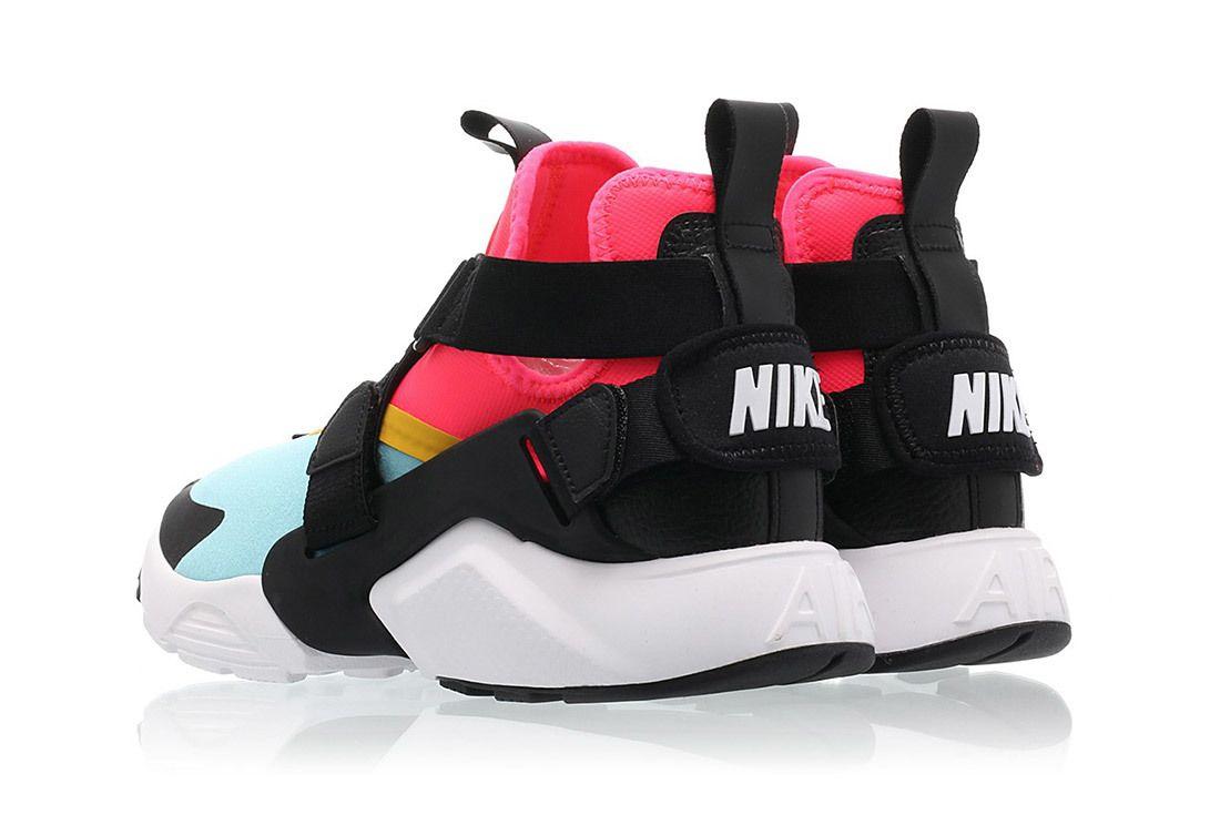  Nike Air Huarache City Bleached Aqua Racer Pink Sneaker Freaker 4