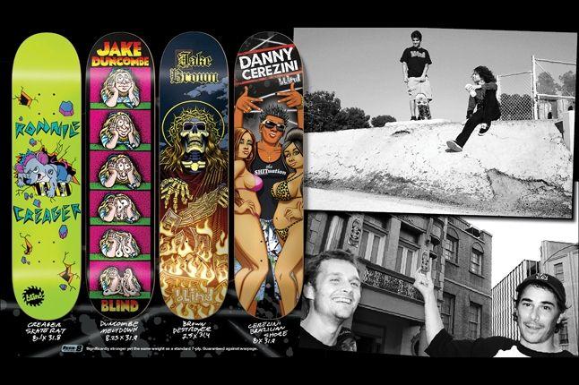 Blind Skateboard Decks Holiday 10 1