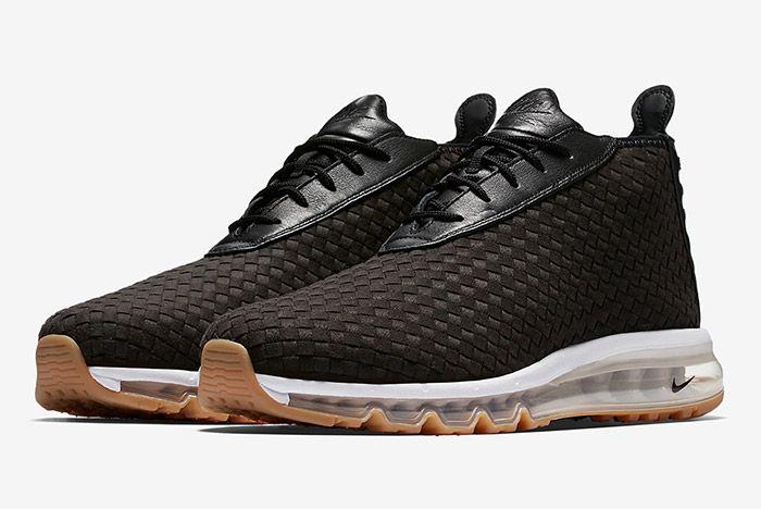 Nike Air Max Woven Boot Black 4
