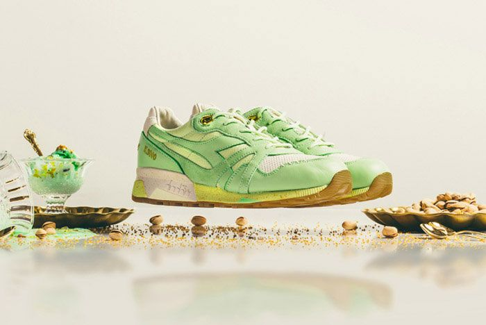 Feature Diadora N9000 Pistaccio 7