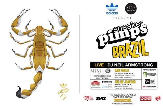 Sneaker Pimps Brazil Flyer