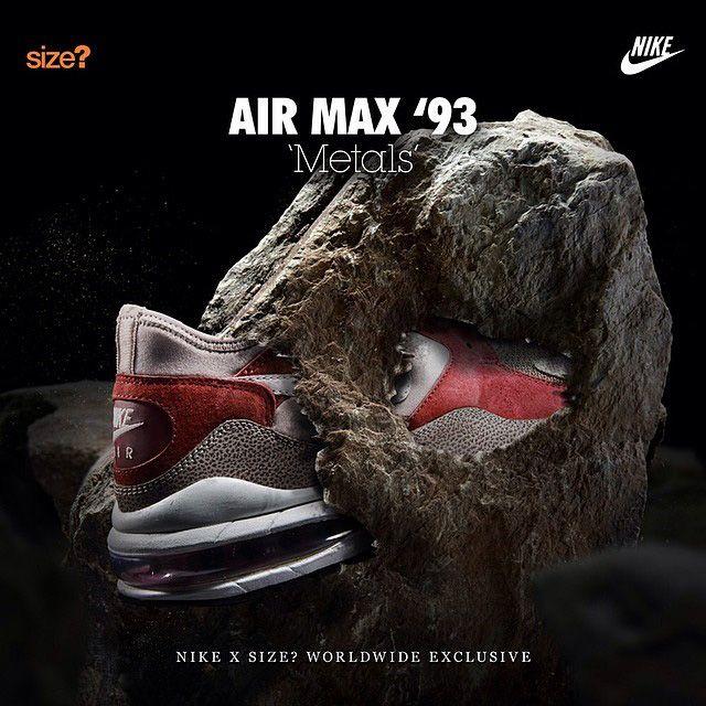 Air Max 93 Metals Size