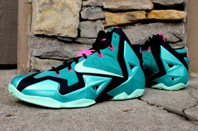 Nike Lebron 11 South Beach 1