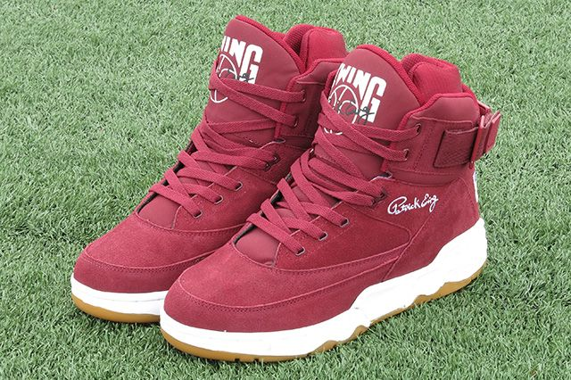 Ewing Athletics 33 Hi Burgundy