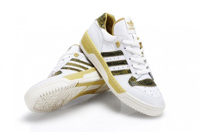 Mustard Adidas Rivalry Lo Limited Edition Pair 1