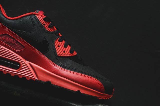 Nike Air Max 90 Gym Redblack5
