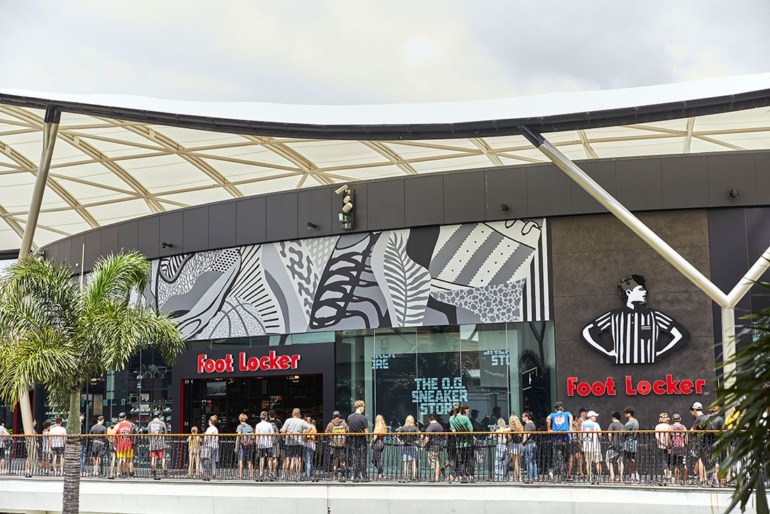 Foot Locker Pacific Fair Australia