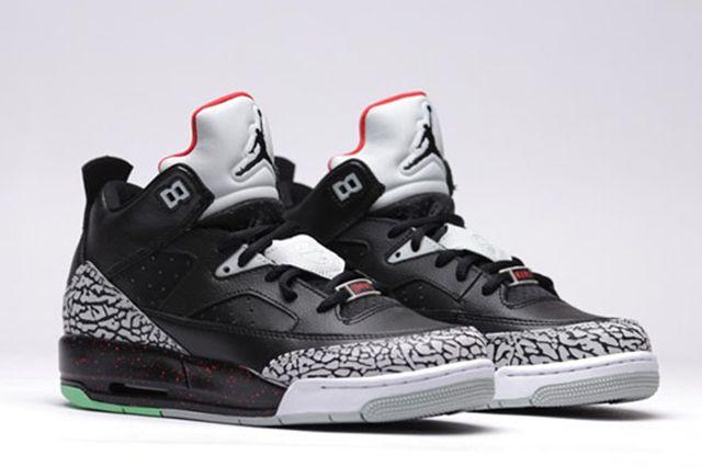 Air Jordan Son Of Low Bg University Red Black Black Unvrstyrd Grymst 13