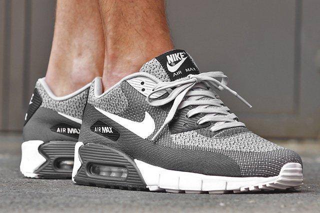 Nike Air Max 90 Jacquard Wolf Grey Pure Platinum