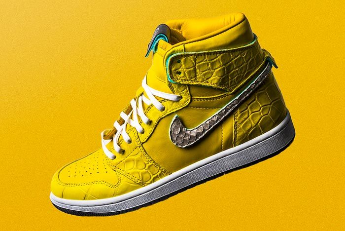 The Shoe Surgeon Air Jordan 1 Canary