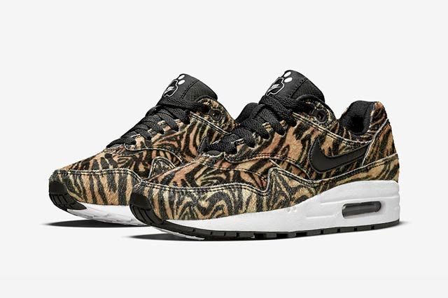 Nike Air Max 1 Gs Zoo Pack Tiger2
