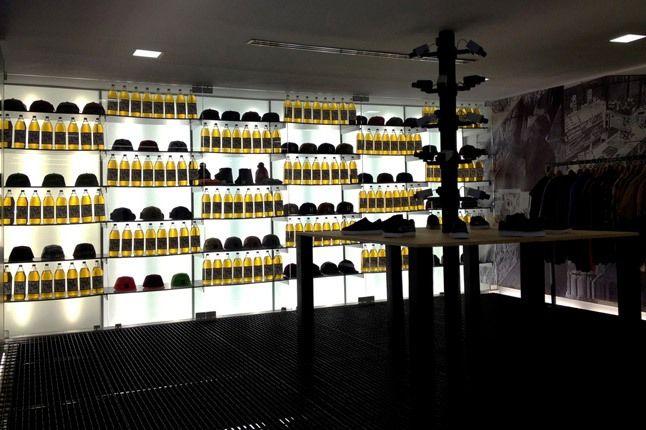 Huf Popup Store Liquor Store 1