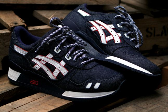 Ronnie Fieg Asics Gel Lyte Iii Selvedge Toe Denim 1