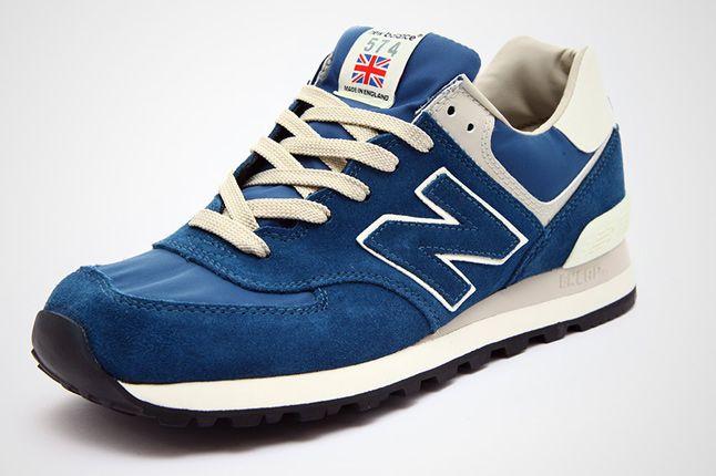 New Balance Ml574 Blue Beige 02 1