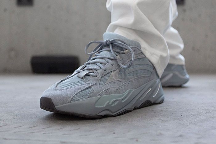 Yeezy 700 V2 Hospital Blue On Foot2
