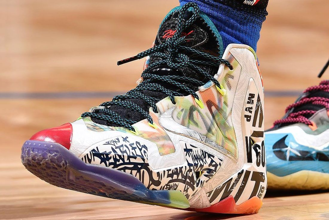 Nike Lebron 11 What The