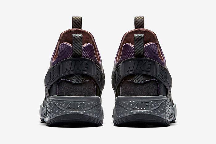 Nike Air Huarache Utility Black Purple Brown 1