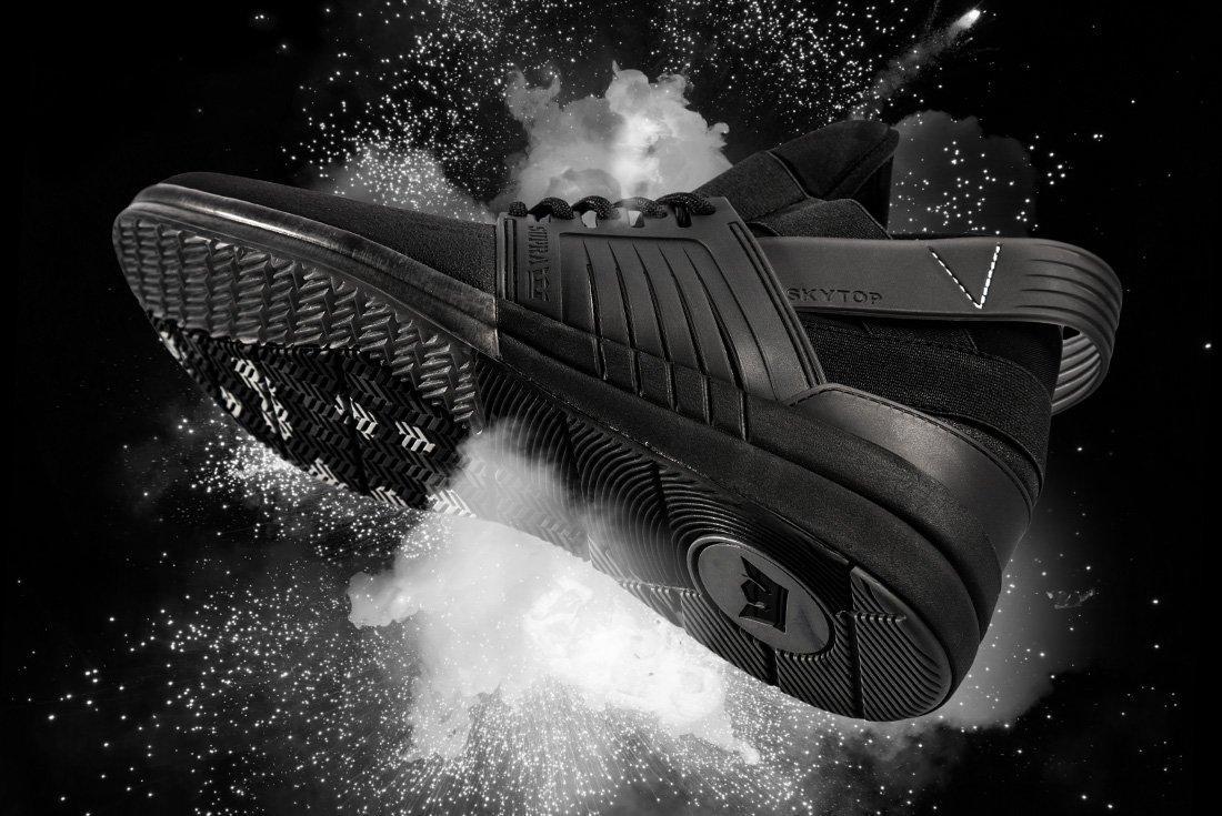 Supra Skytop V Black Reverse 1