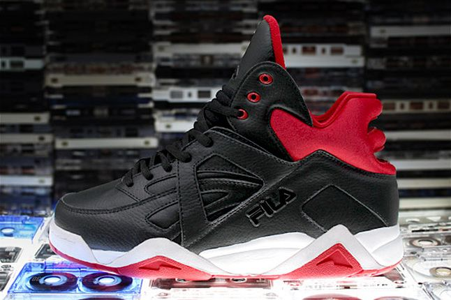 The Cage By Fila Black Red 1 1