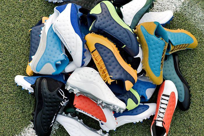 Air Jordan 13 Cleats Feat