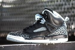 Air Jordan Spizike Black Wolf Grey Thumb