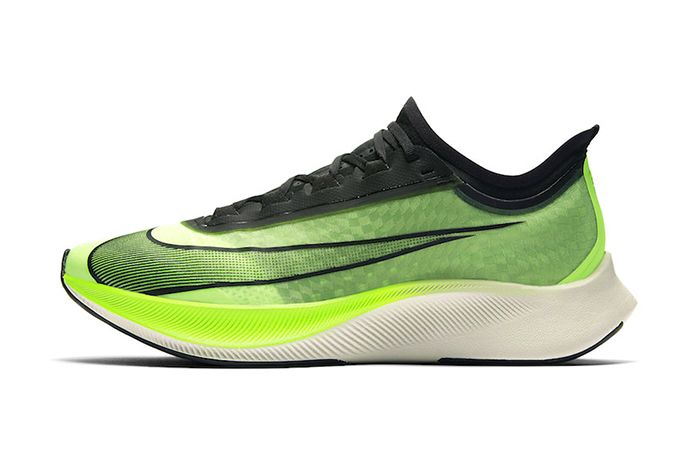 Nike Zoom Fly 3 Electric Green At8240 300 Release Date Lateral