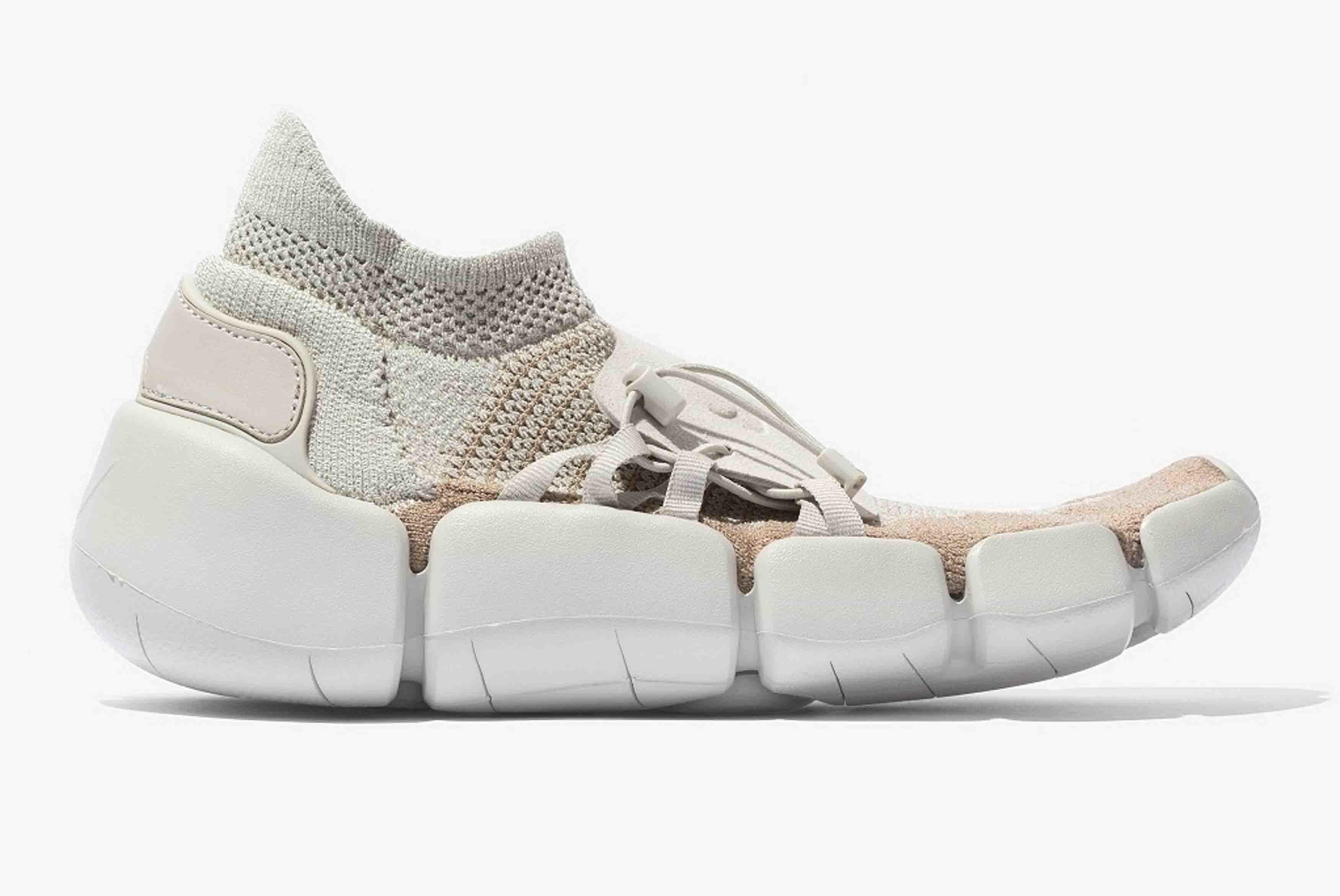 Nike Footscape Flyknit Dm Tan 1 Sneaker Freaker