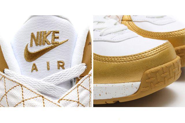 Nike Air Raid Metallic Gold 1