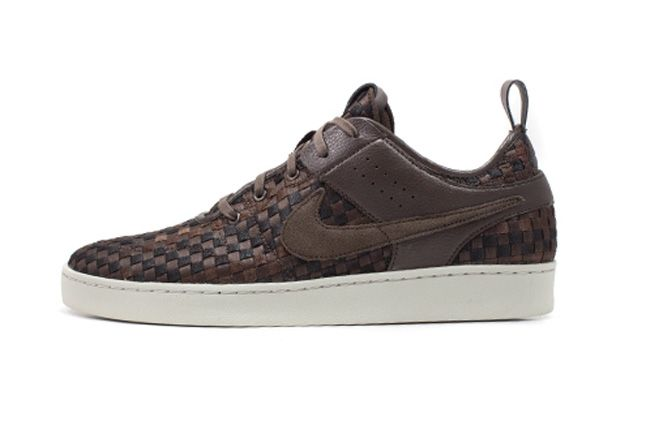 Nike Nsw Courtside Woven Track Brown Side 1