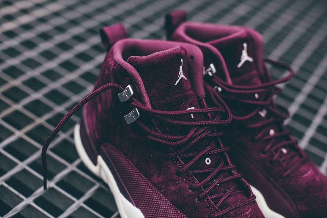 Air Jordan 12 Bordeaux 4