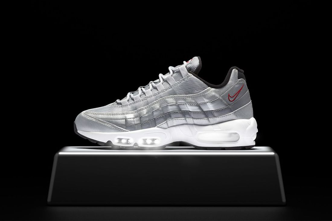 Silver Bullet Nike Air Max 95 Best Feature