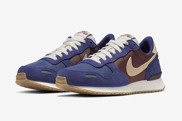 Nike Air Vortex Blue Brown Pair