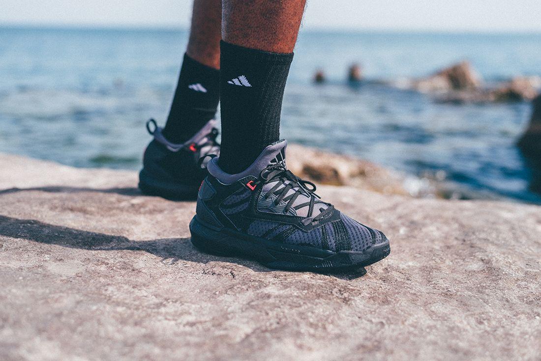 Adidas D Lillard 2 Shark Black 2