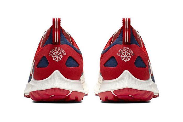 Nike Gyakusou Air Zoom Pegasus 36 Trail Sp Red Official Release Date Heel