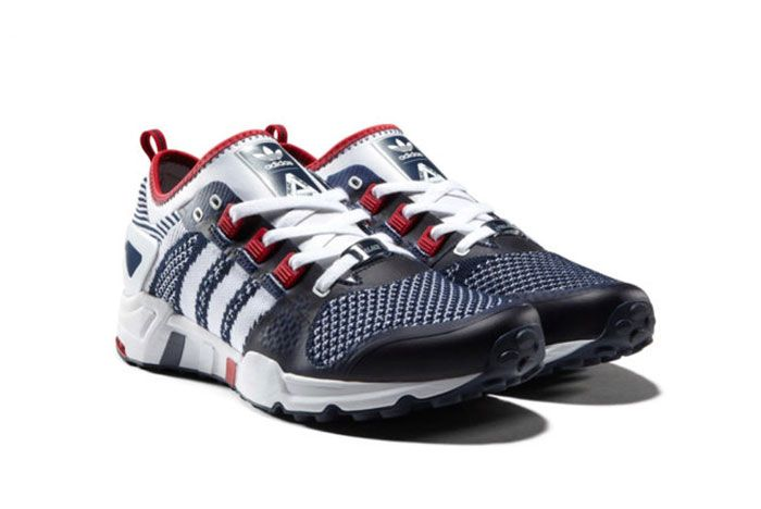 Palace Adidas Eqt Blue White Red 2